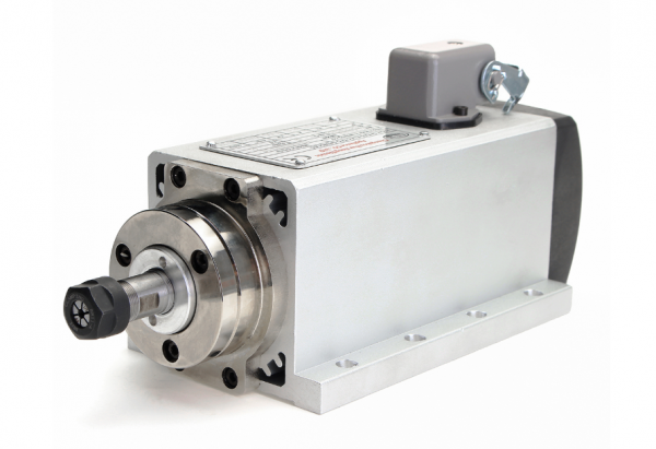 1.5kW Air Cooled CNC Spindle Motor for CNC Router 110/220V - DIY-Geek