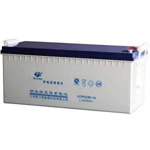 12V Deep Cycle GEL Battery (Vision) - DIY-Geek