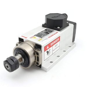 2.2kW Air Cooled CNC Spindle Motor for CNC Router + Inverter + ER20 Collet Set - DIY-Geek