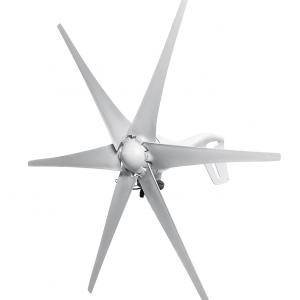 Wind Turbine Generator 2500W 12V/24V 6 Blades - DIY-Geek