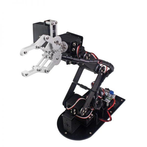 DIY 6dof 3 Dimensional Rotating Claw - DIY-Geek