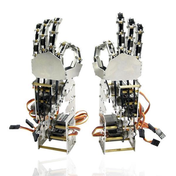 DIY 5dof Left or Right hand Mechanical Arms - DIY-Geek