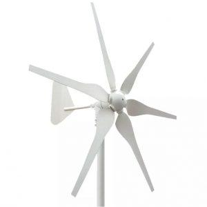 Wind Turbine Generator 500W 12V/24V - DIY-Geek