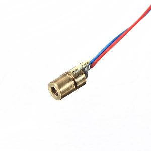 650nm 5mW Red Laser - Dot - DIY-Geek