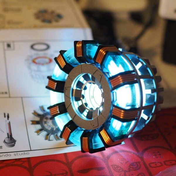 DIY Iron Man Arc Reactor Replica - DIY-Geek