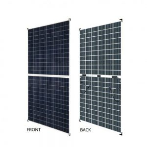 300W Poly Bi-facial BiKu Frameless Canadian Solar Panel - DIY-Geek