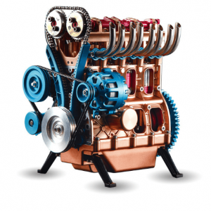 Four Cylinder Engine DIY Model - DIY-Geek