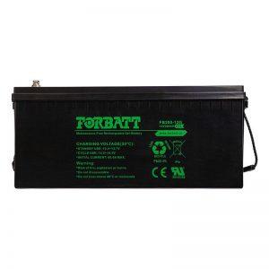 12V Gel Forbatt Battery - DIY-Geek