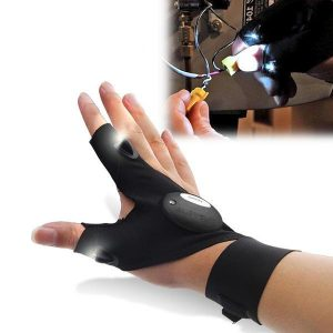 DIY Glove with LED Lights - DIY-Geek