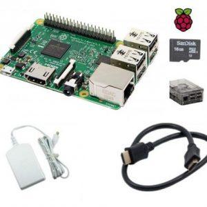 Raspberry Pi 3 Model B Clear Case Kit - DIY-Geek