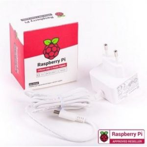 Official Raspberry Pi4 USB-C 15.3W Power Supply - DIY-Geek