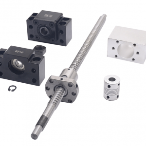 SFU1204 Ball Screw c/w Ball Nut and machined ends + 1204 Ball Nut + Nut Housing+BK/BF10 End Support + Coupler RM1204 - DIY-Geek