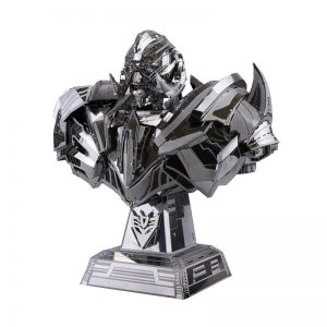 3D Stainless Steel Megatron Puzzle - DIY-Geek