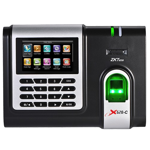 X628-C - ZKTeco IP Based Fingerprint Time and Attendance Units - DIY-Geek