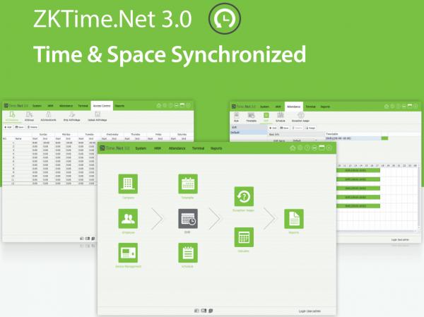 ZKTime.Net 3.0 Time & Attendance Software - DIY-Geek