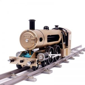 Two Piston Steam Train DIY Model - DIY-Geek