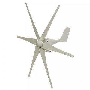 Wind Turbine Generator 5000W 12V/24V/48V - 6 Blade - DIY-Geek