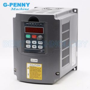1.5kW Air Cooled CNC Spindle Motor for CNC Router 220V/380V + 2.2kW Inverter - DIY-Geek