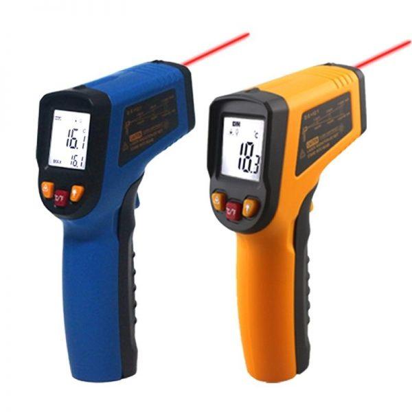 Infrared Digital LCD Thermometer -50~600C - DIY-Geek